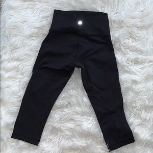 Lulu lemon Capri align legging black